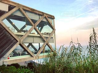 太平洋を臨む絶景カフェ「SEA HOUSE」の写真・画像素材[1214084]