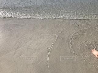 オーストラリア「ホワイトヘブンビーチ」砂浜の写真・画像素材[1214227]