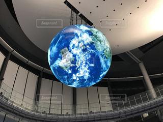 日本科学未来館の地球のオブジェの写真・画像素材[1222876]