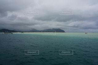 ハワイ「天国の海」サンドバーの写真・画像素材[1244753]