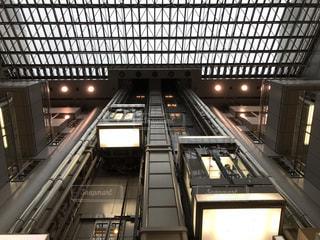 羽田空港のエレベーターの写真・画像素材[1244833]