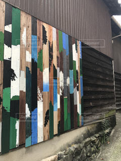 眞壁陸二「路地壁画プロジェクト」の写真・画像素材[1244850]