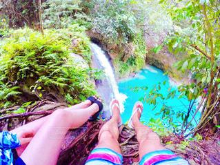 滝の写真・画像素材[629044]
