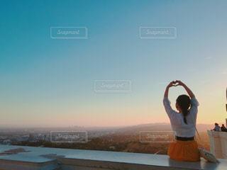夕日の写真・画像素材[633014]