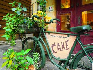 自転車の看板 - No.754172