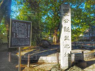 豊臣秀吉生誕地の写真・画像素材[789346]
