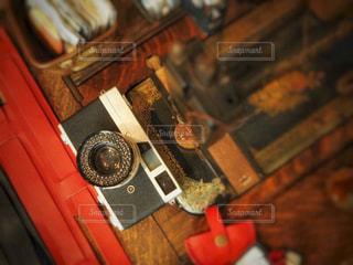 オールドカメラの写真・画像素材[797159]