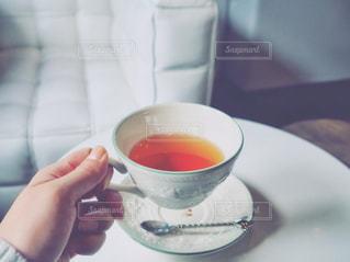 紅茶を飲むの写真・画像素材[864792]