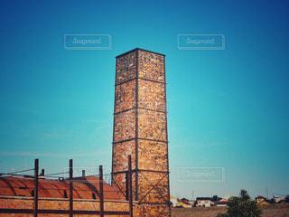 空と煙突の写真・画像素材[975117]