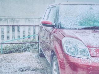 うっすら雪化粧の写真・画像素材[975869]