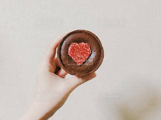 チョコレートタルトの写真・画像素材[992197]