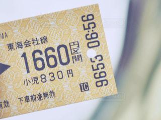切符の写真・画像素材[998081]