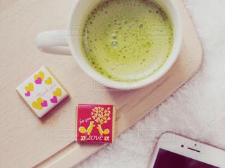 抹茶ラテとチョコ - No.1001707
