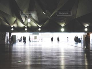 大さん橋国際ターミナルの写真・画像素材[1005863]