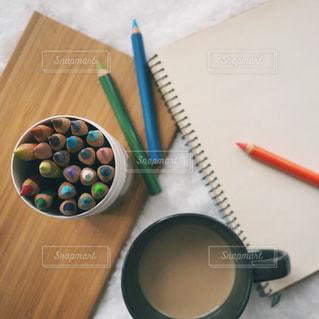 色鉛筆の写真・画像素材[1012634]