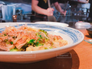 沖縄料理屋さんでゴーヤチャンプルーの写真・画像素材[1063025]