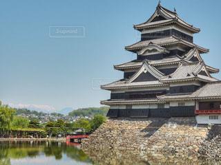 国宝松本城の写真・画像素材[1152341]