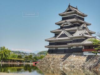 国宝松本城の写真・画像素材[1152343]