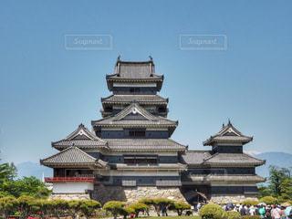 国宝松本城の写真・画像素材[1152345]