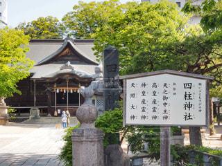四柱神社の写真・画像素材[1152408]