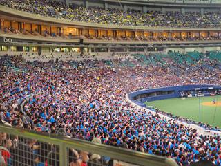 ナゴヤドームで野球を見ている人々の写真・画像素材[1189995]
