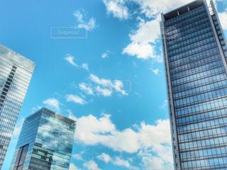 都市の高層ビルの写真・画像素材[1442665]