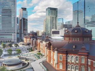 都市の高層ビルの写真・画像素材[1442673]