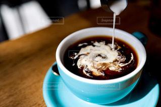 一杯のコーヒーの写真・画像素材[2114639]