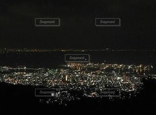六甲山の夜景の写真・画像素材[730331]