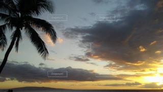 夕日の写真・画像素材[673053]