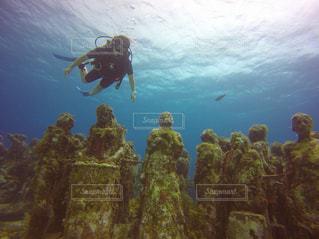 海底美術館の写真・画像素材[1847544]