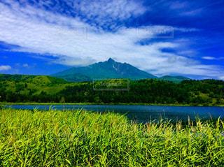 利尻富士の写真・画像素材[633024]