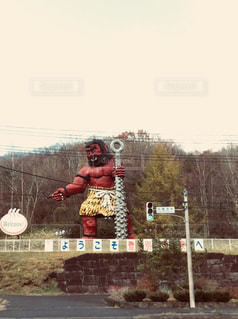 赤鬼の写真・画像素材[857511]