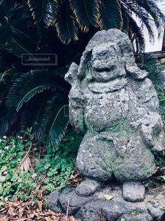 石像の写真・画像素材[1065366]