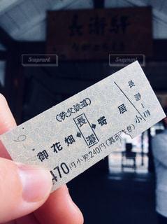 切符の写真・画像素材[1115642]
