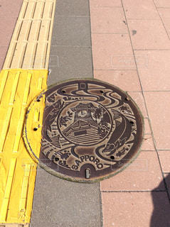 札幌市マンホールの写真・画像素材[1254574]