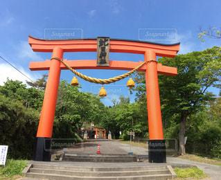 虻田神社⛩の写真・画像素材[1254610]