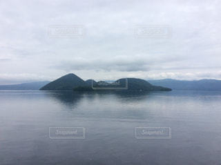 洞爺湖中島の写真・画像素材[1254652]