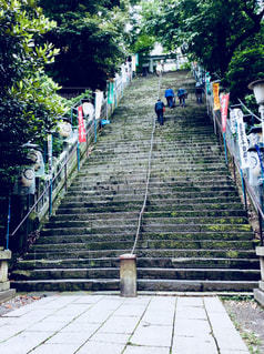 出世の階段の写真・画像素材[1268223]