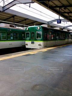 京阪電車の写真・画像素材[1301756]