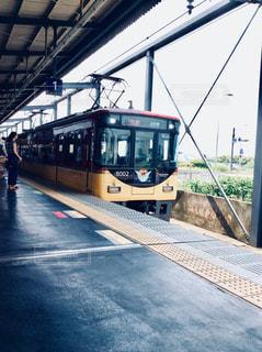 京阪電車の写真・画像素材[1309377]