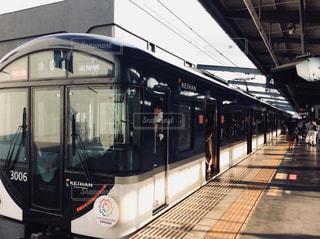 京阪電車🚃の写真・画像素材[1317837]