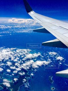 奄美群島上空フライト✈️の写真・画像素材[1322180]