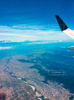 四国上空の写真・画像素材[1322198]