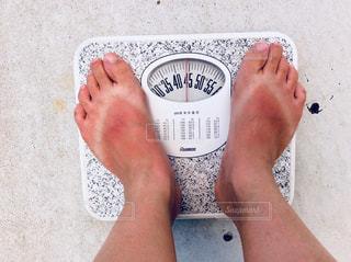 体重計の写真・画像素材[1327480]