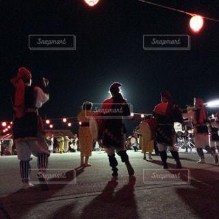 久米島のエイサーの写真・画像素材[1413276]