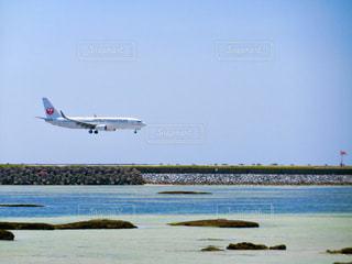 着陸の写真・画像素材[2152130]