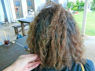 髪の毛の写真・画像素材[2330823]