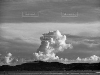 入道雲の写真・画像素材[3724271]