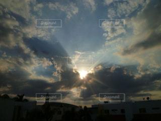 夕焼けの写真・画像素材[631580]